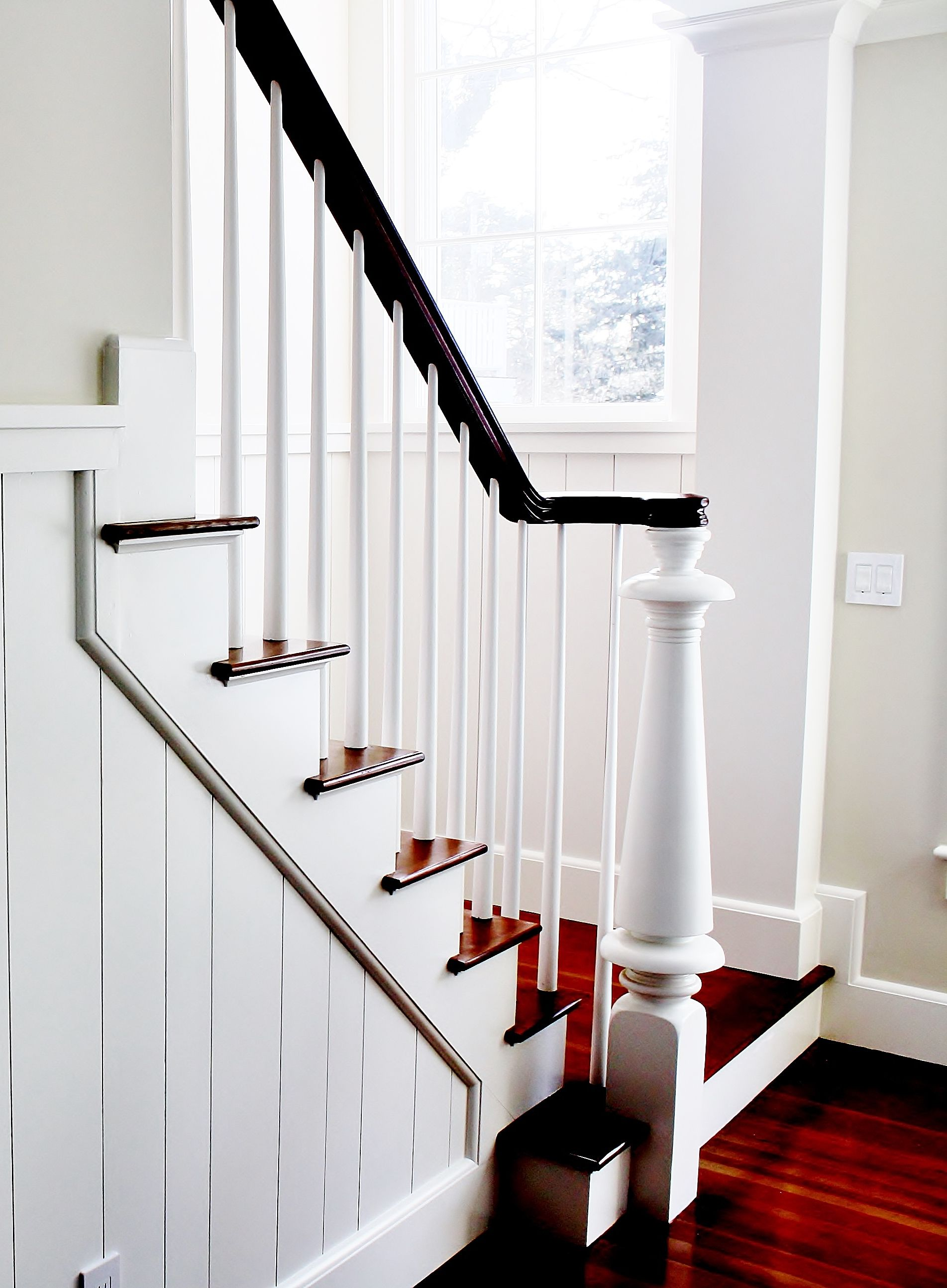 Best Custom Design Lighthouse Newel Post And Stair Of Cape Cod 400 x 300