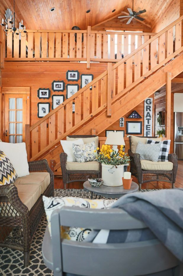 decorating a living room with lawn furniture for the home rh pinterest com