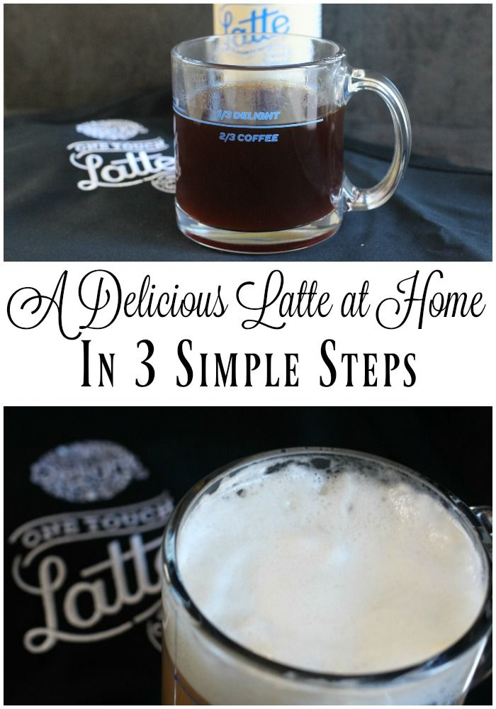 Yes!  You can make a delicious latte at home in just 3 simple steps with a little help from @walmart !    #LatteMadeEasy #ad