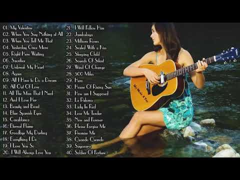 Top 50 Guitar Love Songs Instrumental Soft Relaxing Romantic Guitar Music Youtube Love Songs Medley Music Calming Songs