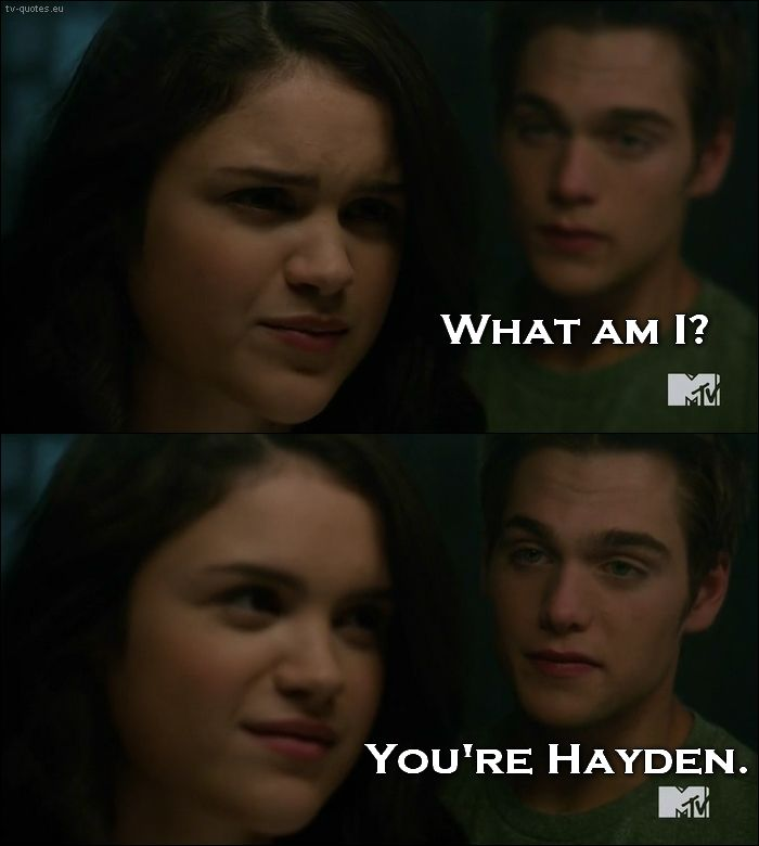 Teen Wolf - Quote - Youre Hayden  Layden  Teen Wolf -9912