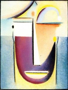 Abstract Head - by Alexei Jawlensky - 1918 2