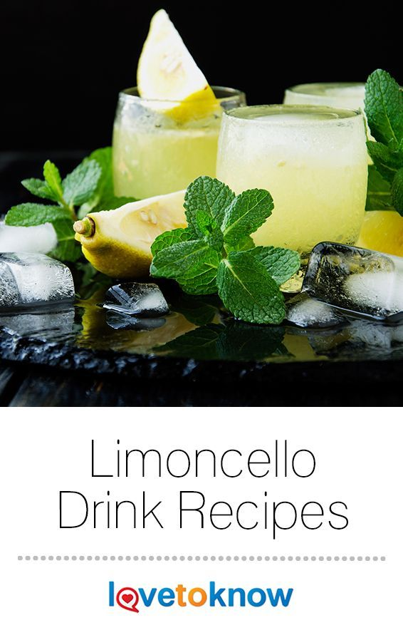 Limoncello Drink Recipes #cocktaildrinks