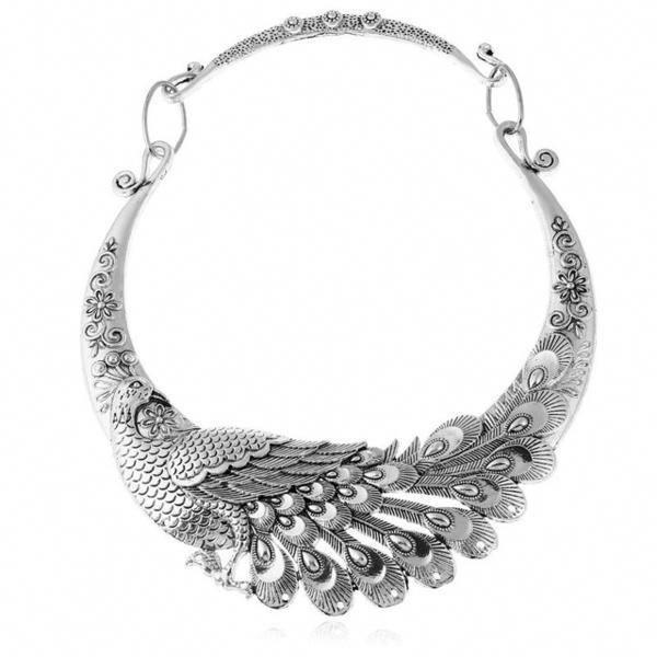 Photo of Diamant-Halskette / 14 Karat Gold 3 Stein Lünette Einstellung Diamant-Halskette …