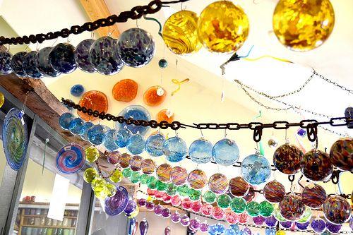 blown-glass globes
