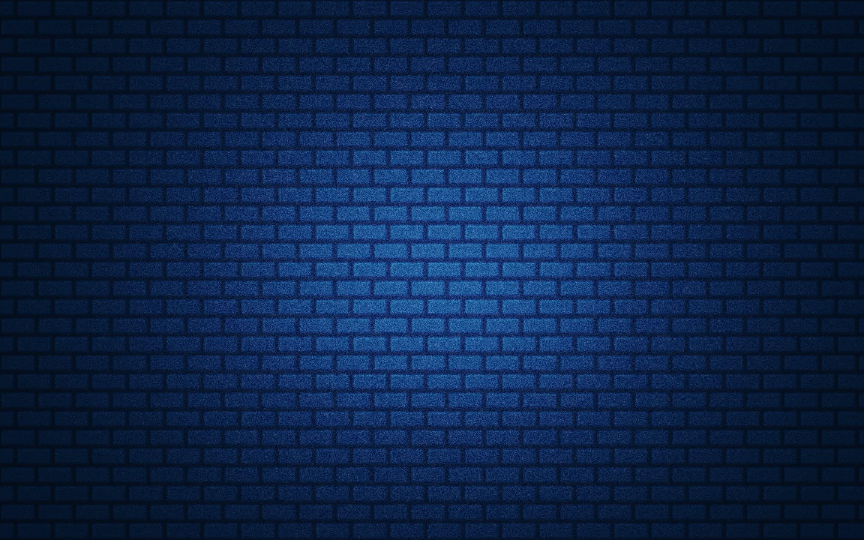 Blue Bricked Wall Blue Simple Brick Gradient Texture 2k Wallpaper Hdwallpaper Desktop Blue Bricks Brick Wall Wallpaper Wallpapers Blue
