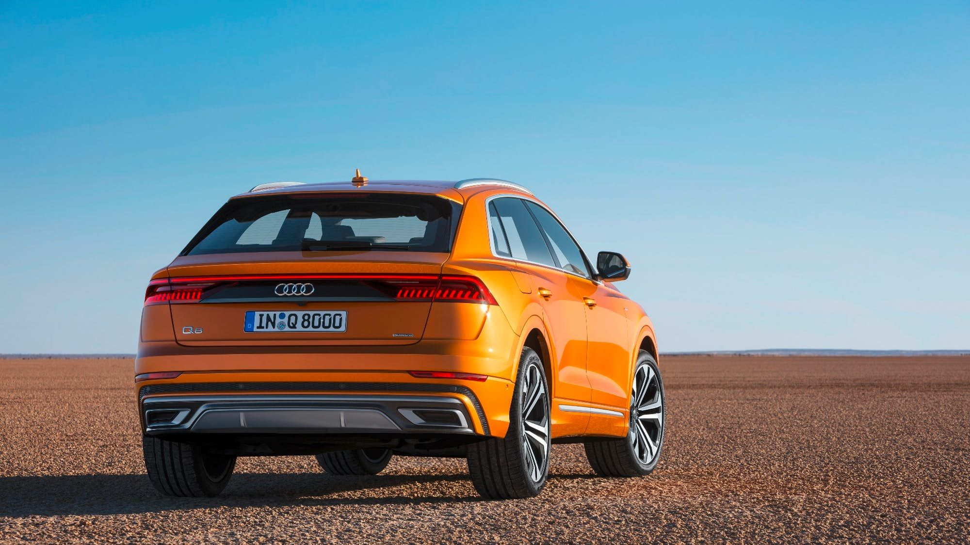 Audi Tops Its Suv Range With New Q8 Audi Mercedes Coupe Coupe