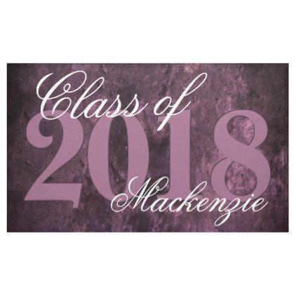 amethyst grad purple plum sangria wine year banner graduation