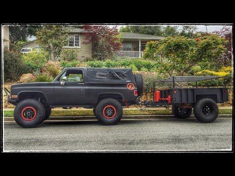 Merricks Garage M1101 Trailer Build Part 1 Youtube Trailer Build C10 Chevy Truck Chevy Trucks