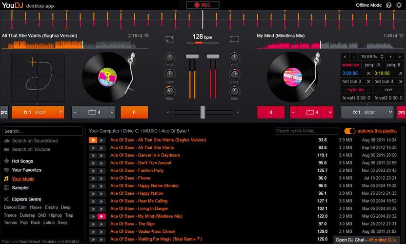 YOU.DJ Desktop Download the YouDJ Desktop app (mix your