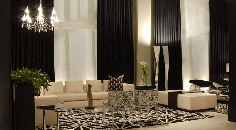 Cortinas Doble Altura Comedor De Lujo Cortinas Elegantes Para Sala Decoracion Living