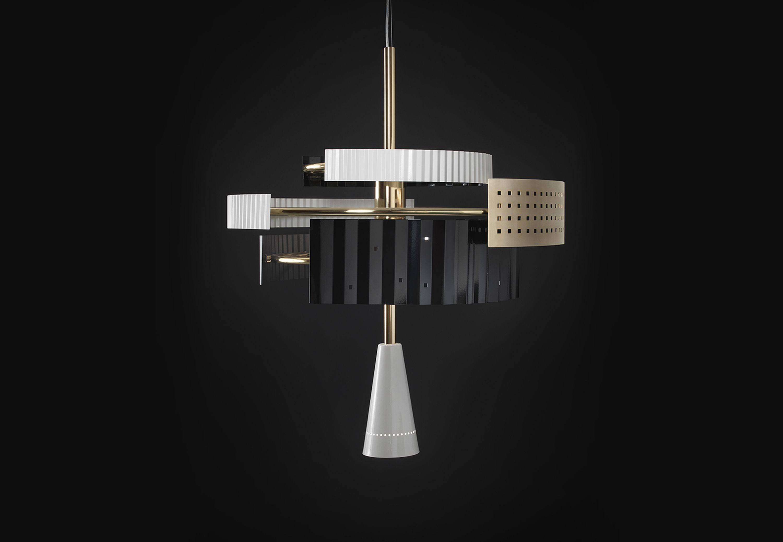 WALLIE CHANDELIER Suspension Lamp @TATO.