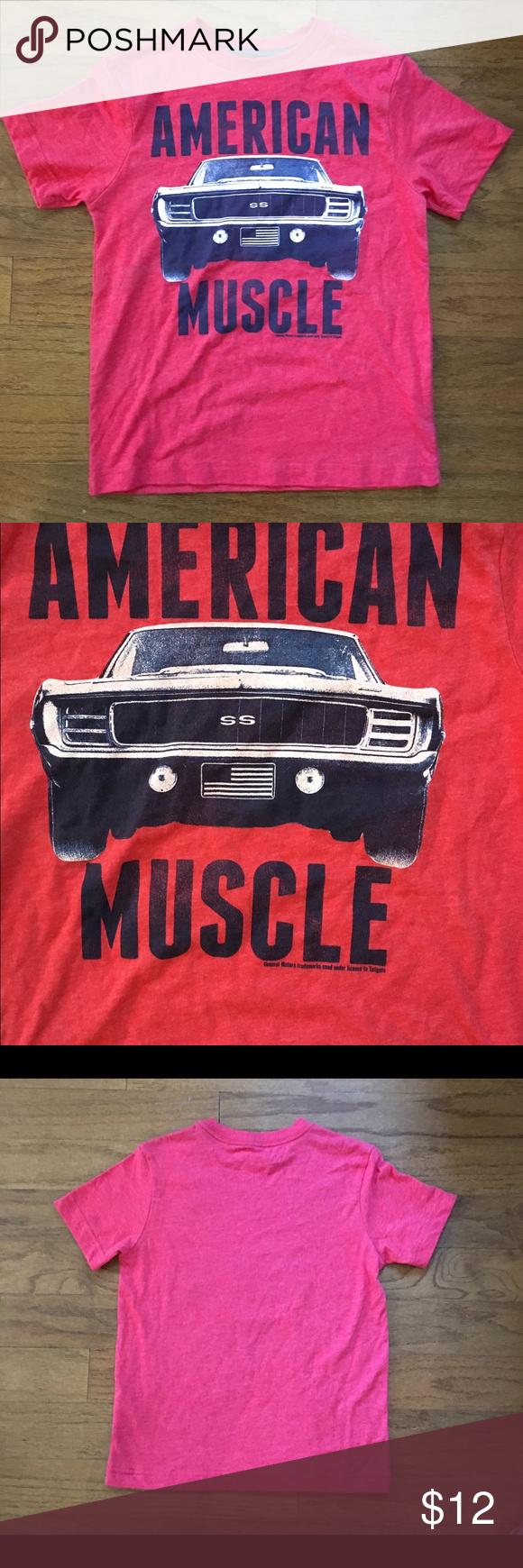 Kid's 1967 1968 Chevrolet Camaro muscle car shirt One