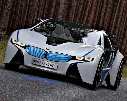 Bmw New Plug In Hybrid Sports Car Concept Bmw Concept Car Bmw Sports Car Bmw Concept