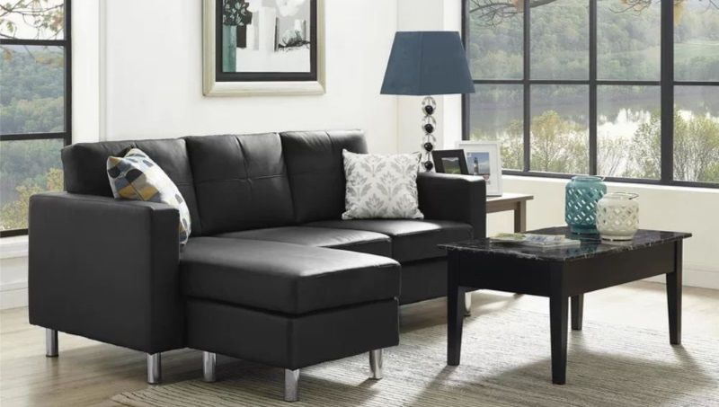 8 Vegan Leather Sectional Sofa Options To Buy Dorel Living Apartment Sofa Sectional Sofa