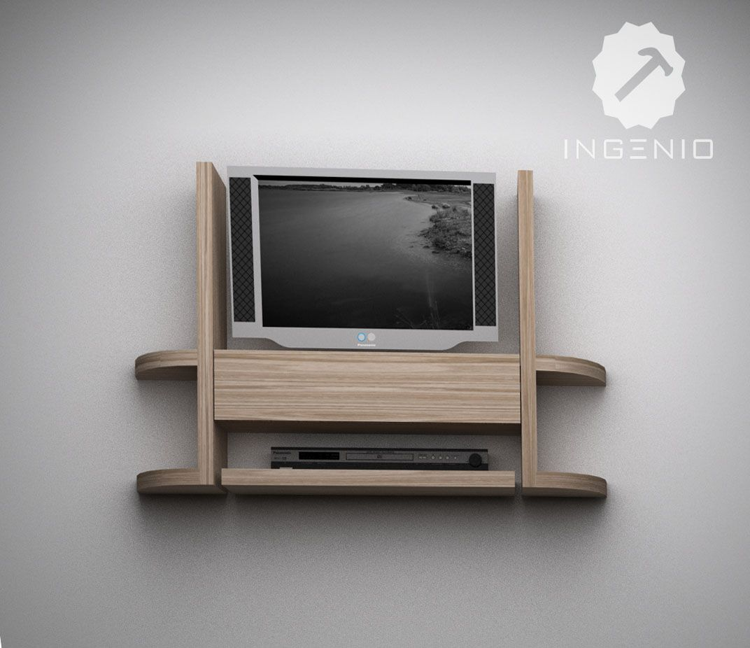 Mueble para equipo tv dise os pinterest tv for Mueble tv economico