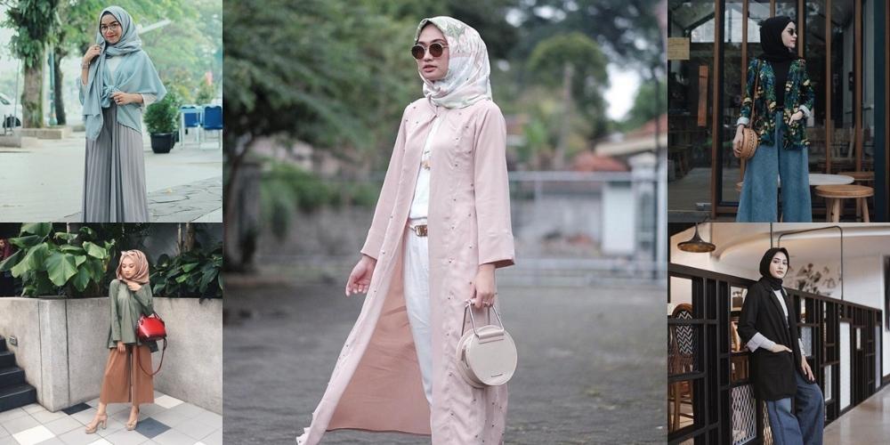 Cara Membuat Jilbab Menjadi Cardigan Atau Outer Agustinnesia Com