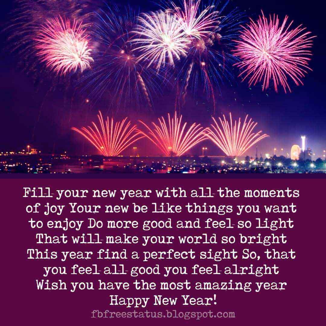 New Year Wishes Quotes, Greeting, Messages & New Year