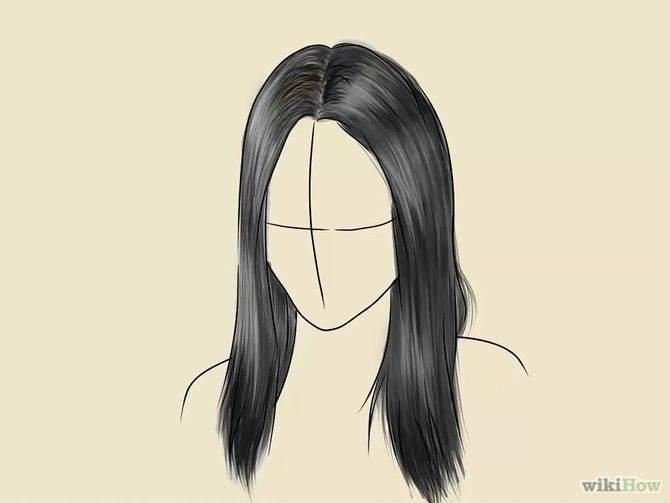 Scribble Drawing Easy : Draw realistic hair drawing ideas and step