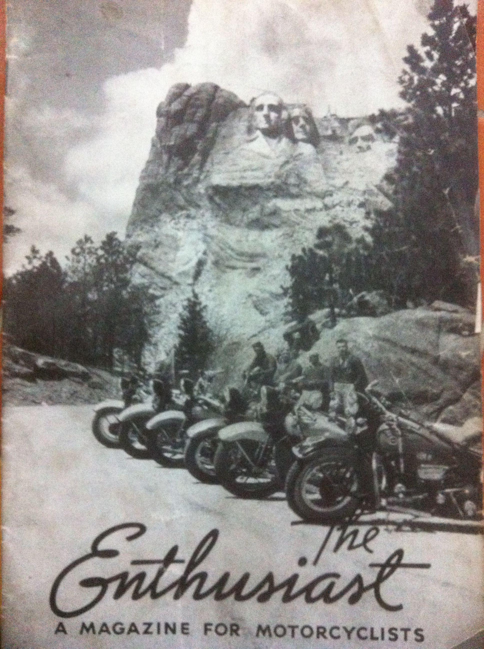 Harley Davidson - The Enthusiast 1938