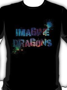 40a949fff7 Imagine Dragons Splatter T-Shirt