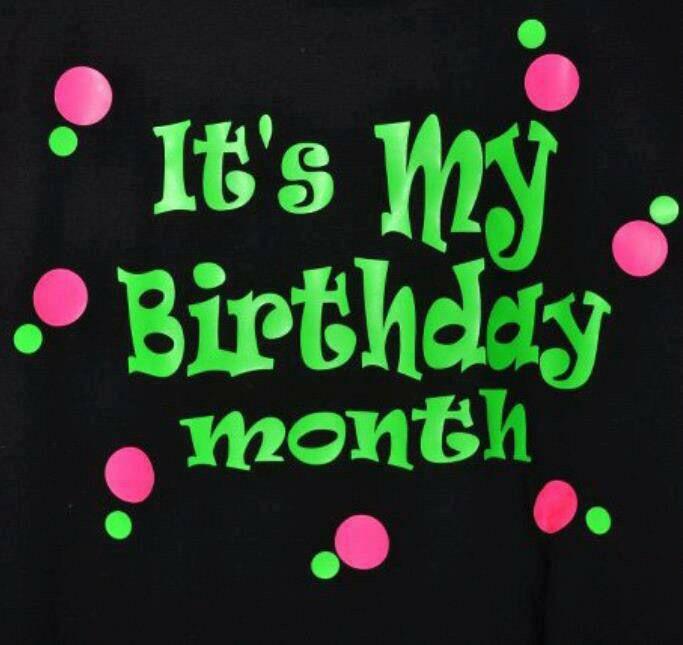 It's my birthday month   Tiny Me   Birthday Quotes, Happy birthday