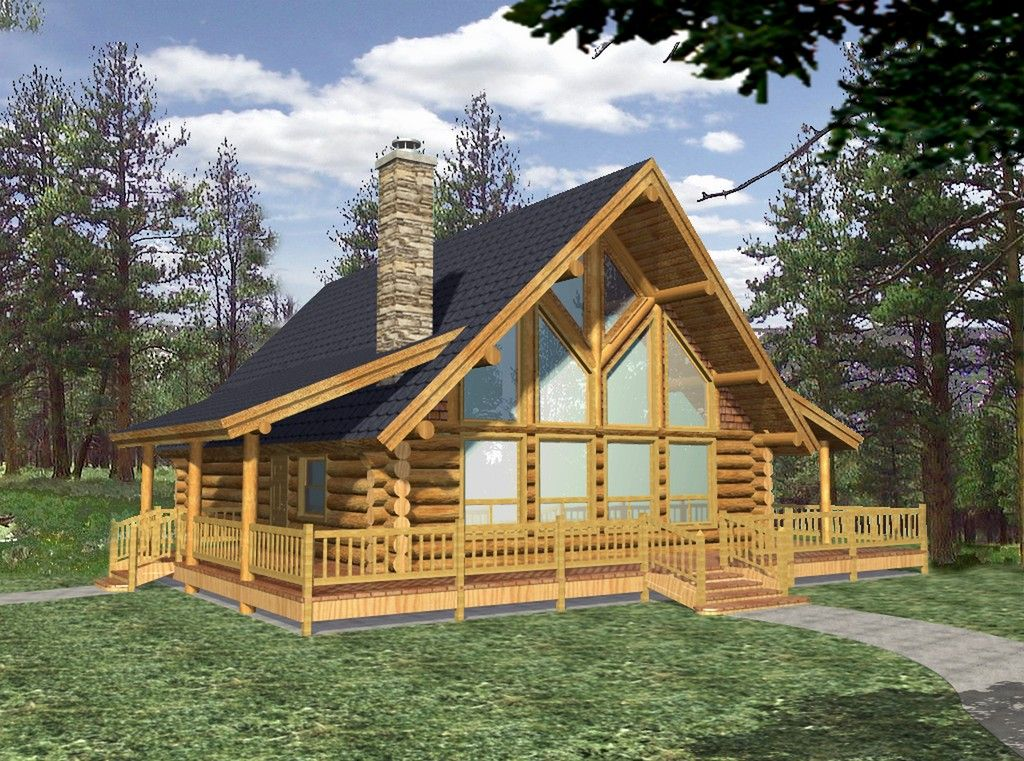 Small Log Cabin Plans With Loft Turnkey Log Home Prices How Much Do Log Cabin Homes Cost Tiny Log Ca Log Cabin Floor Plans Log Cabin Plans Log Home Floor Plans