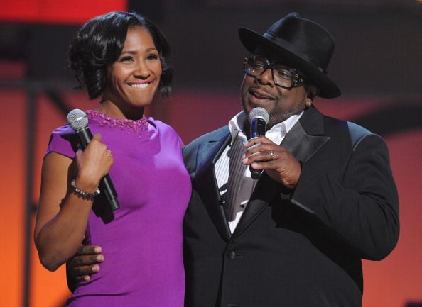 Terry Vaughn and Cedric the Entertainer during the 2011 Soul Train Awards at The Fox Theatre on November 17 2011 in Atlanta Georgia