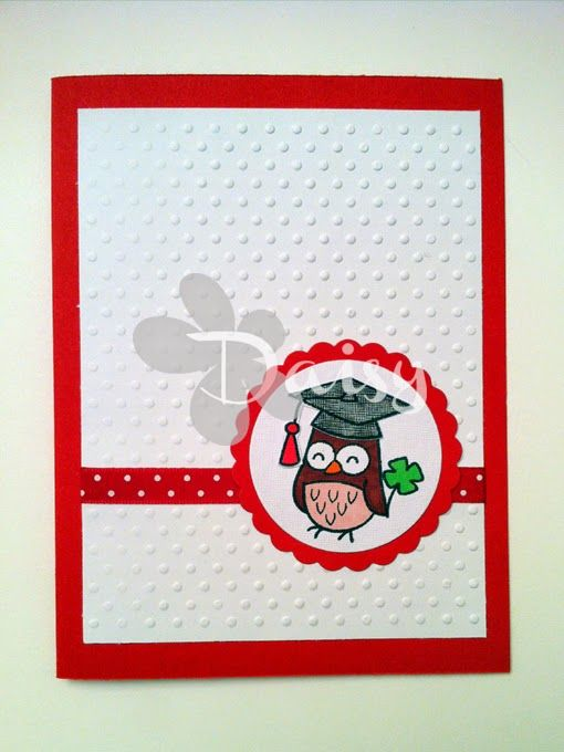 Happy Graduation card Daisy Handmade http://daisywphandmade.blogspot.it/