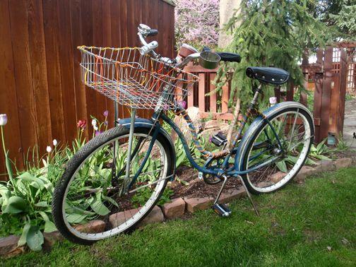 love riding my bike