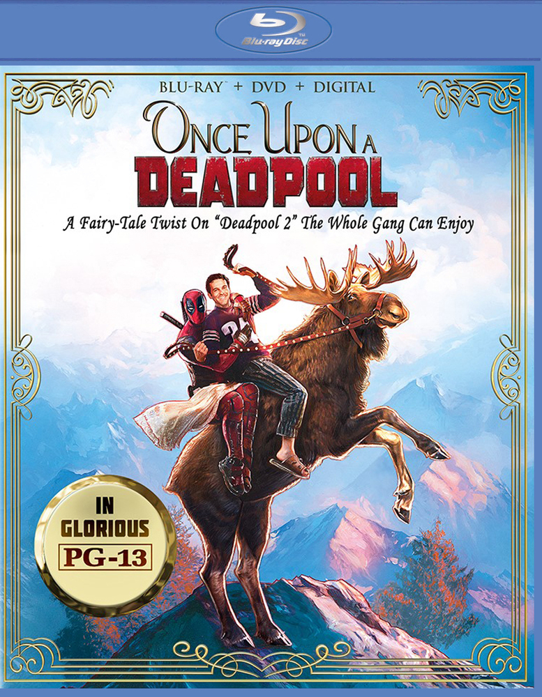 Once Upon A Deadpool [Includes Digital Copy] [Blu-ray/DVD