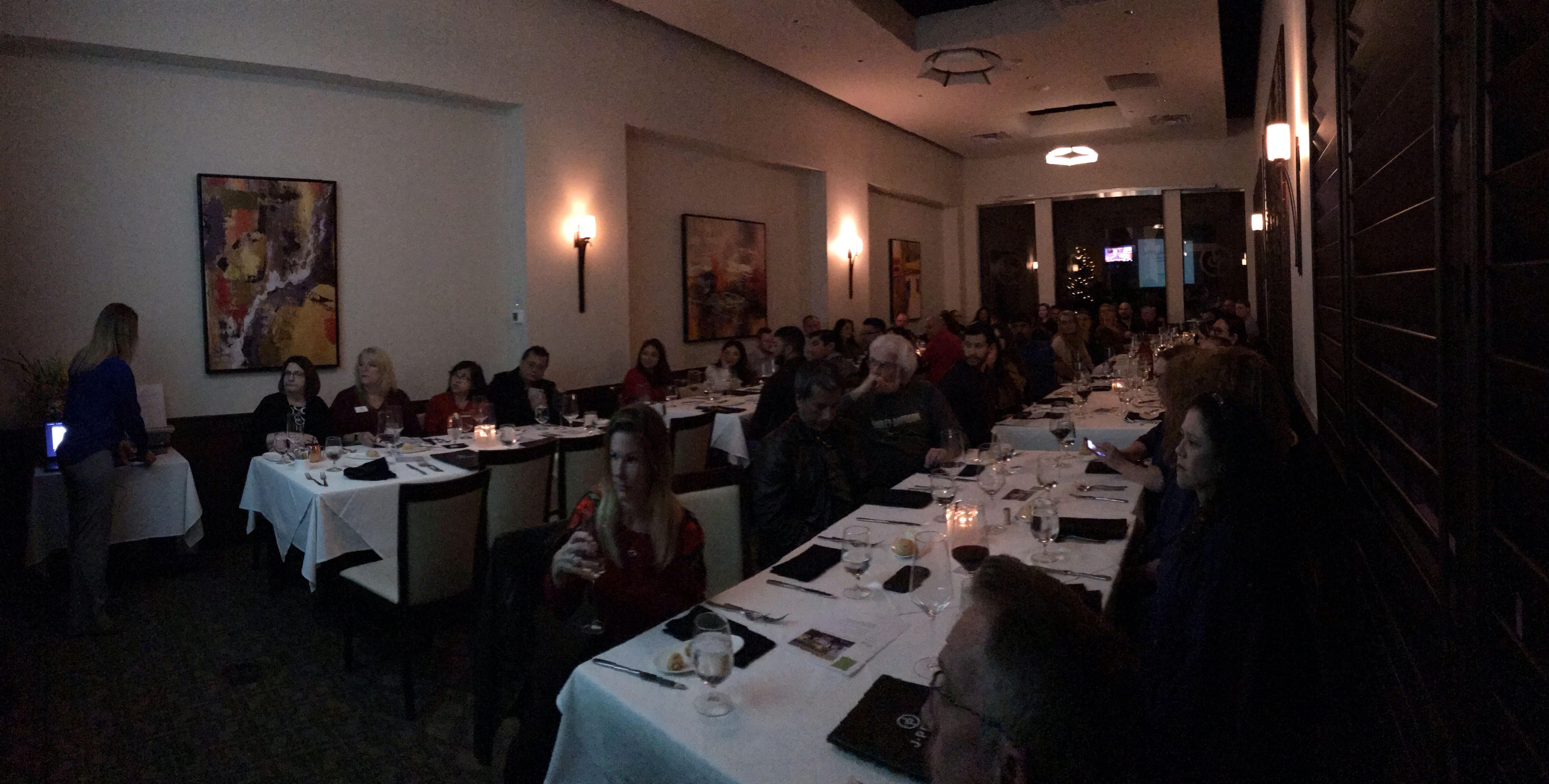 An incredible turnout more than 60 IPs, VA specialists