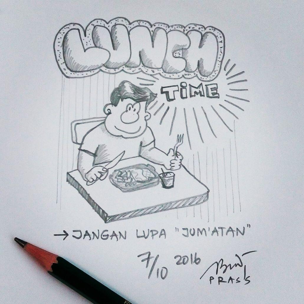 Mari Kita Maksi Makansiang Lunch Lunchtime Iseng Sketch