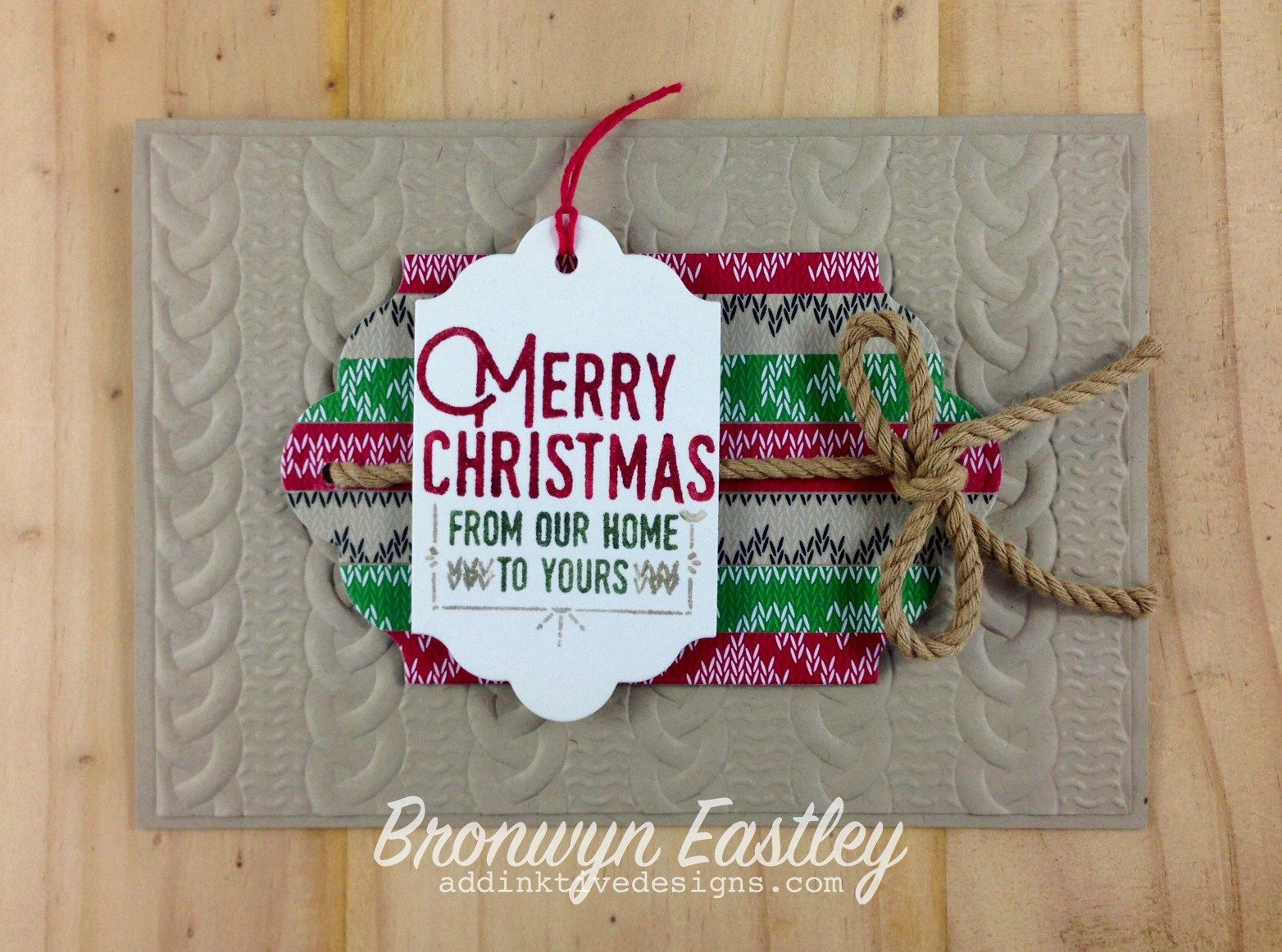 Stampin' Up! 2016 Holiday Catalog Wrapped in Warmth