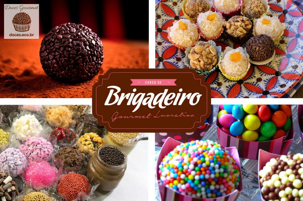 curso brigadeiro gourmet lucrativo