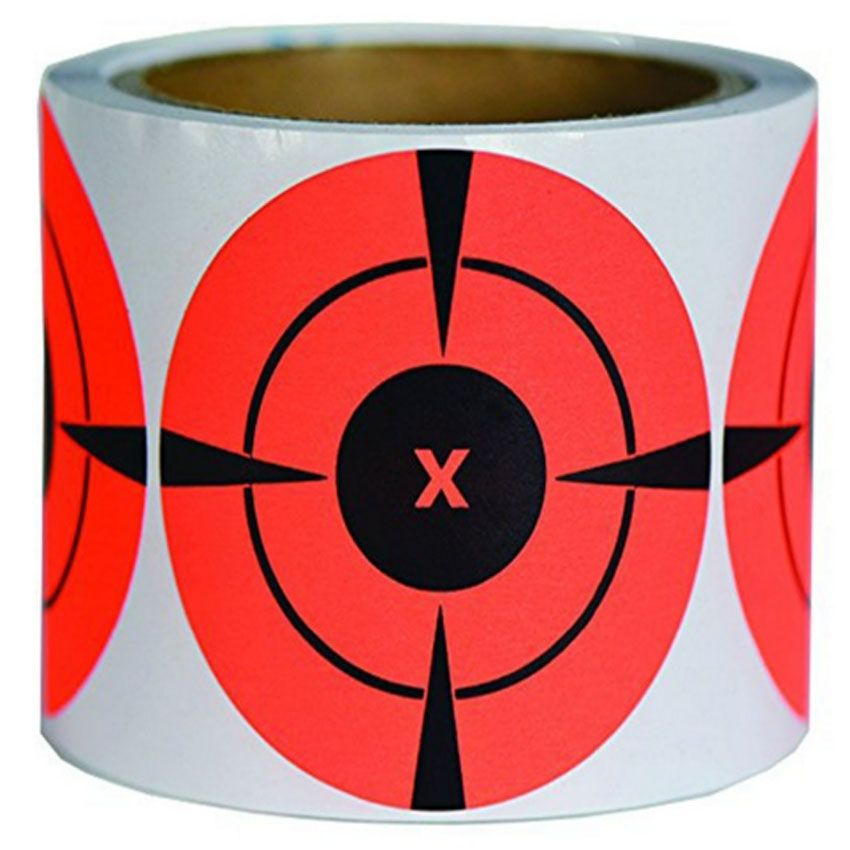 250 Mega pack 3 Inches Neon Target Stickers For Gun Shooting Practice  Targets Se