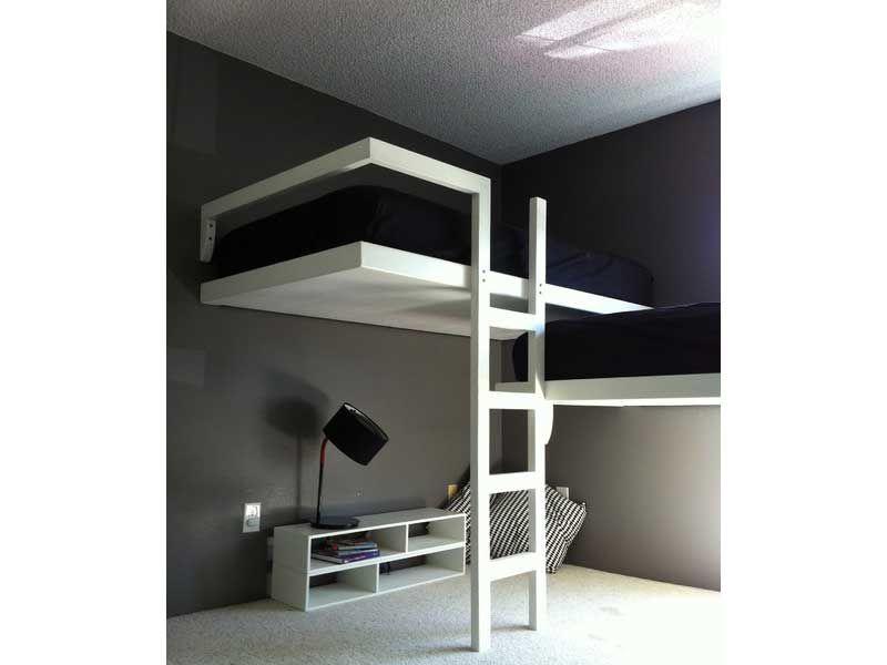 Risultati immagini per camere a soppalco da grandi letto - Letto a castello adulti ...