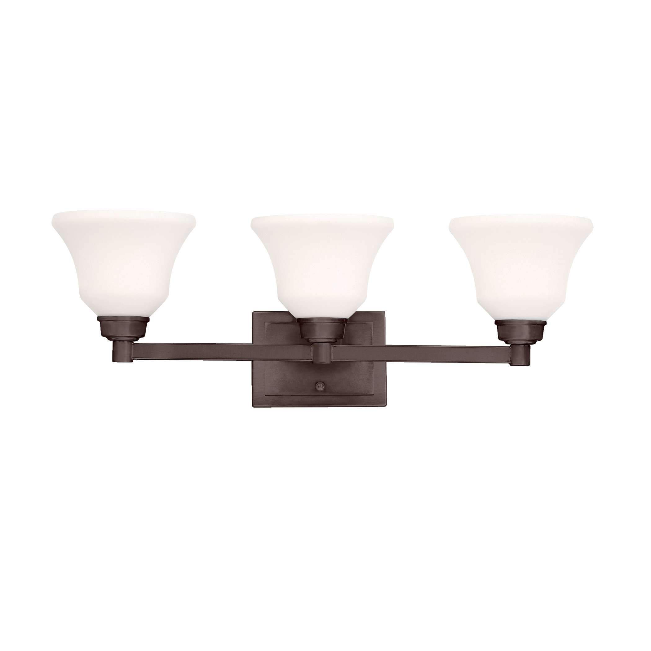 Photo of Langford Bath 3 Light – Olde Bronze