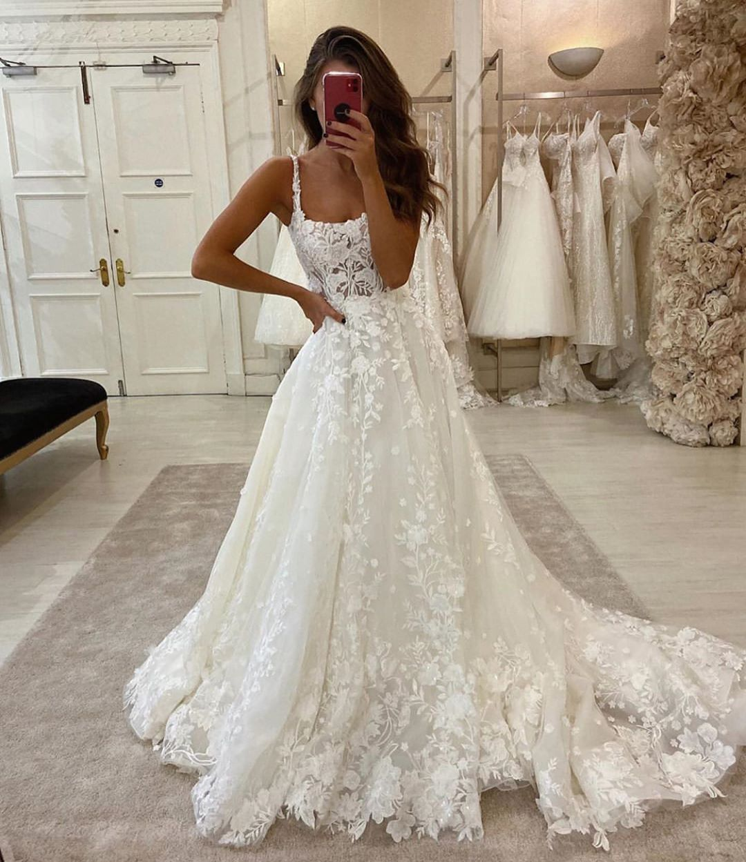 Just Wedding Bells On Instagram Which Dress 1 2 3 Or 4 Dresses By Martinalianabridal F In 2020 Wedding Dresses Lace Ball Gowns Wedding Wedding Dresses