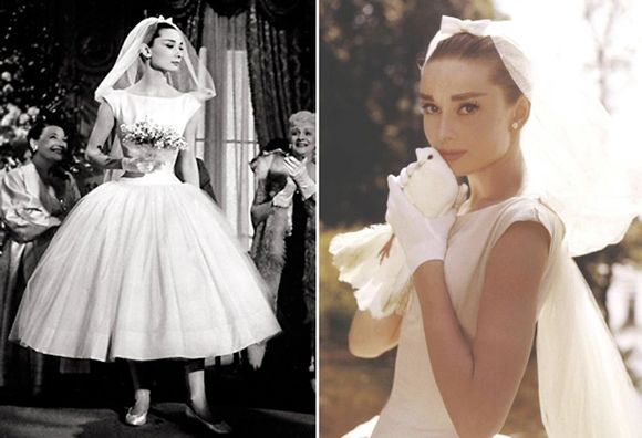 Audrey Hepburn Wedding Theme Somewhat Became The Inspiration For Dress