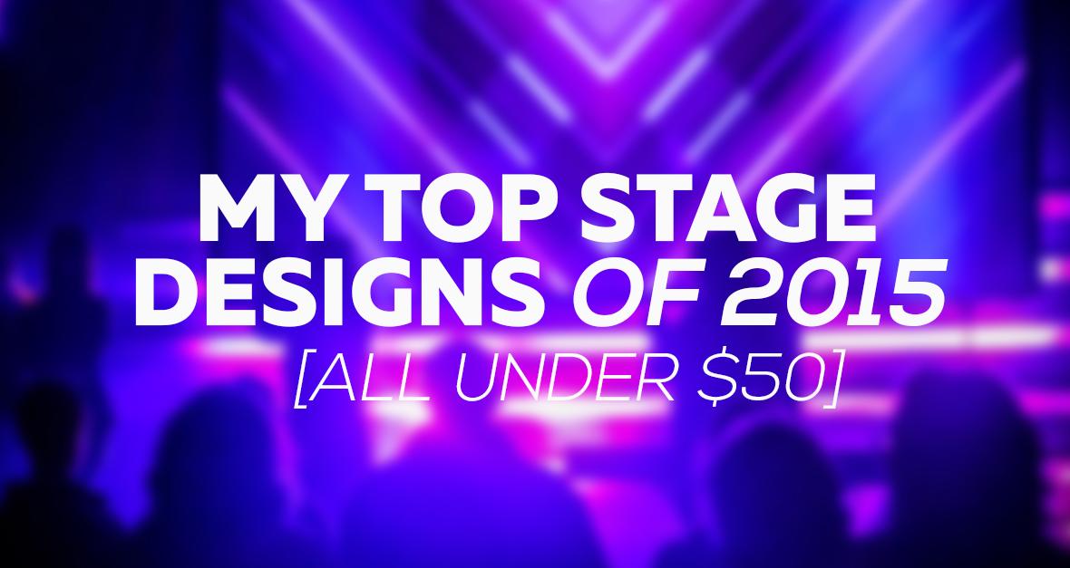 Church Stage Designs 2015