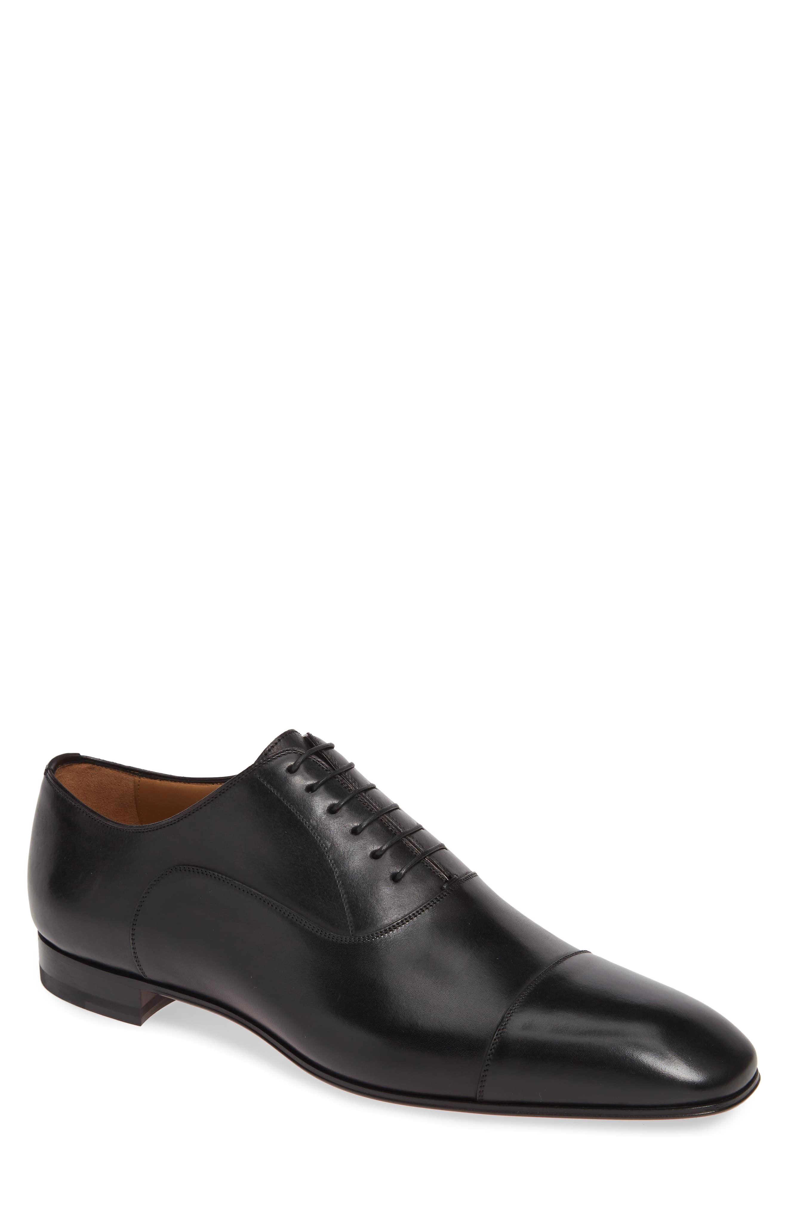 Christian Louboutin Greggo Cap Toe Oxford Men Nordstrom Dress Shoes Men Cap Toe Oxfords Oxford Dress Shoes [ 4048 x 2640 Pixel ]