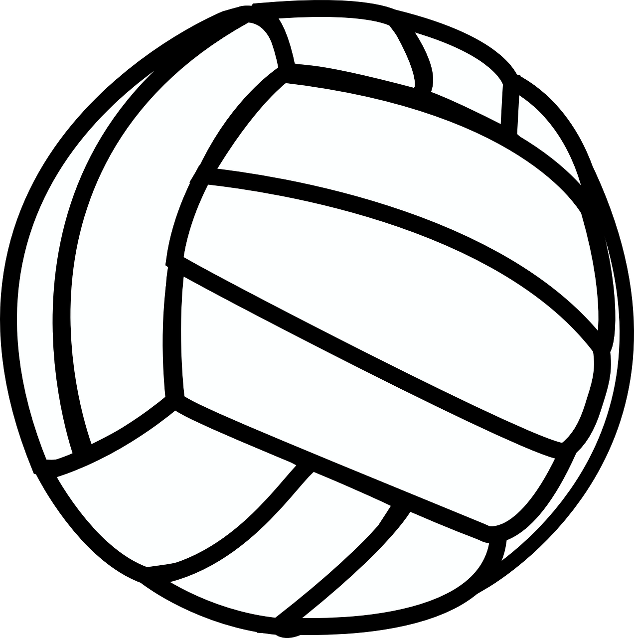 Free Image On Pixabay Volleyball Sport Black White Volleyball Clipart Volleyball Locker Volleyball Players