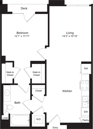 Altitude Apartments | West los angeles, Family plan, One ...