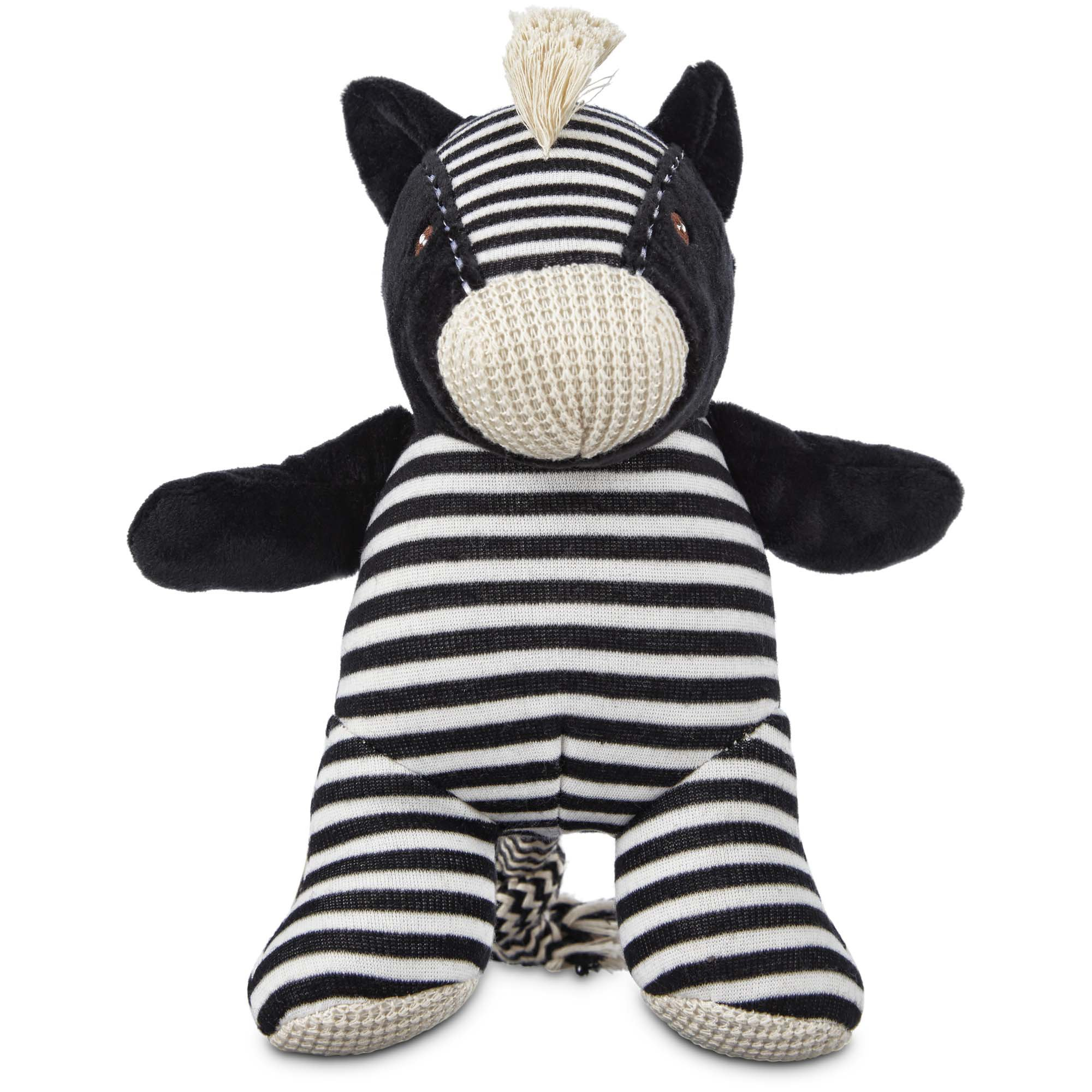 Leaps Bounds Wildlife Plush Zebra Dog Toy 9 Medium In 2019
