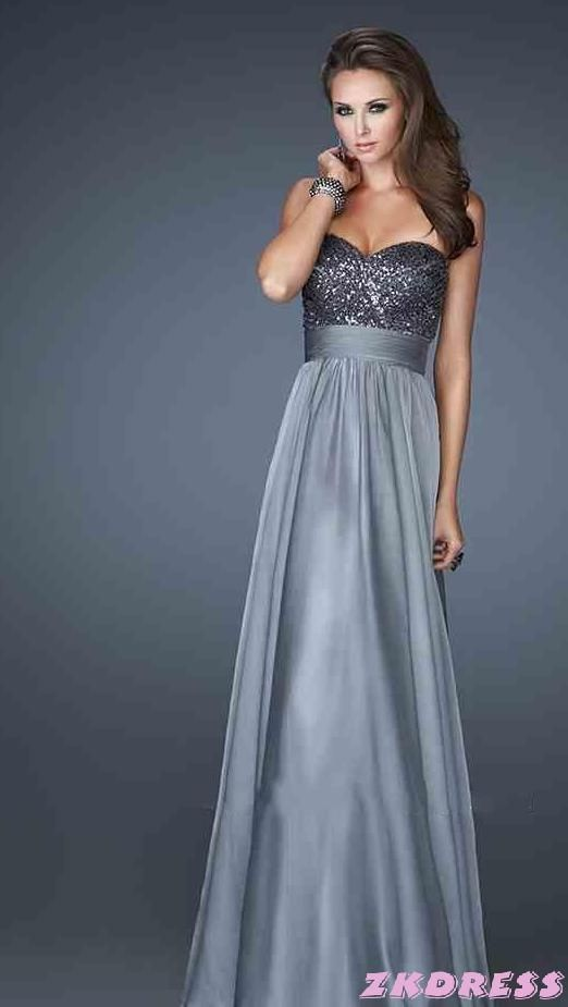 light shades of long prom dresses ides (13) | Prom | Pinterest ...