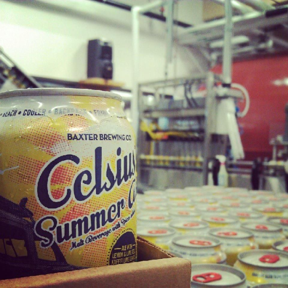 Baxter Brewing Company Celsius Summer Ale. New for 2012!