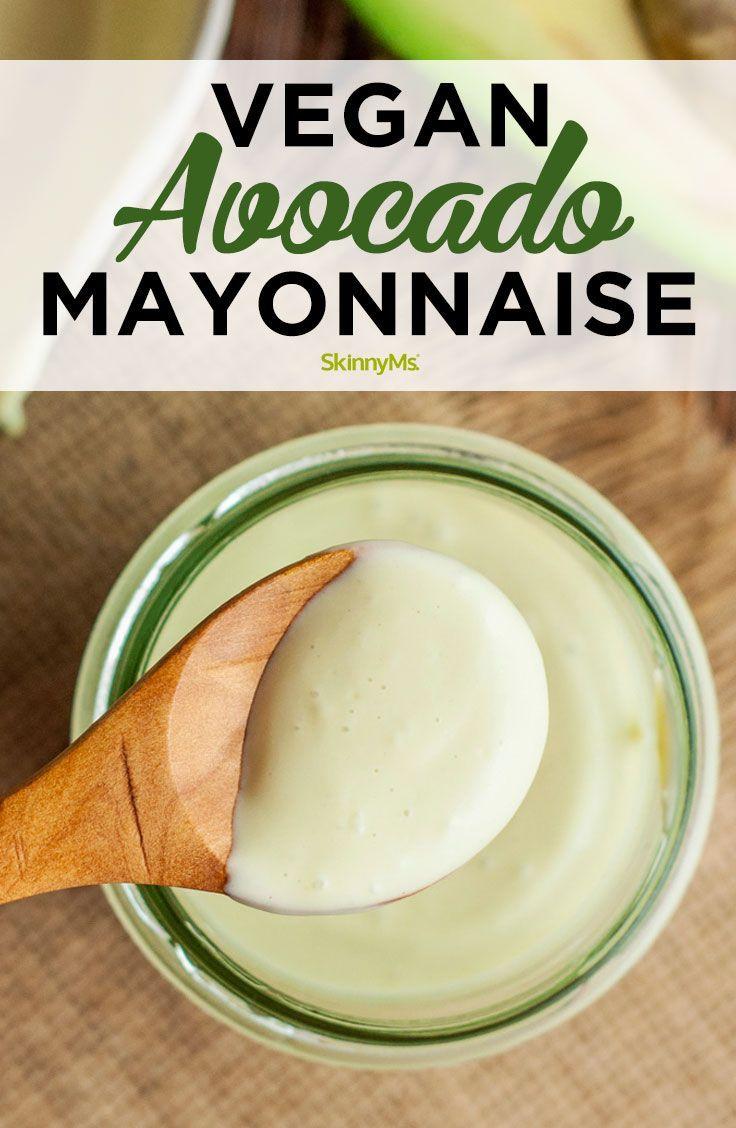 Plant-Based Avocado Mayonnaise