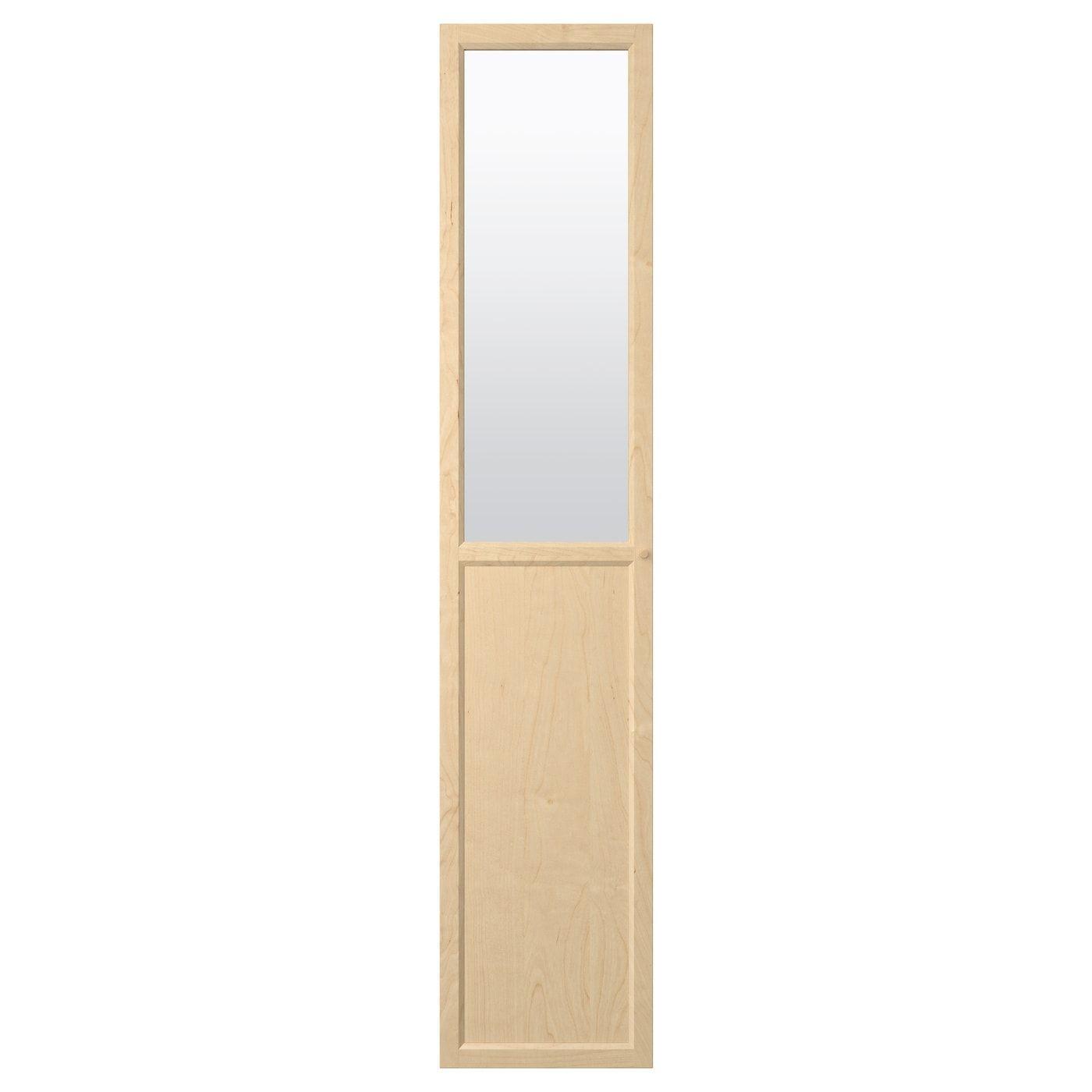 paneel-/vitrinentür oxberg birkenfurnier