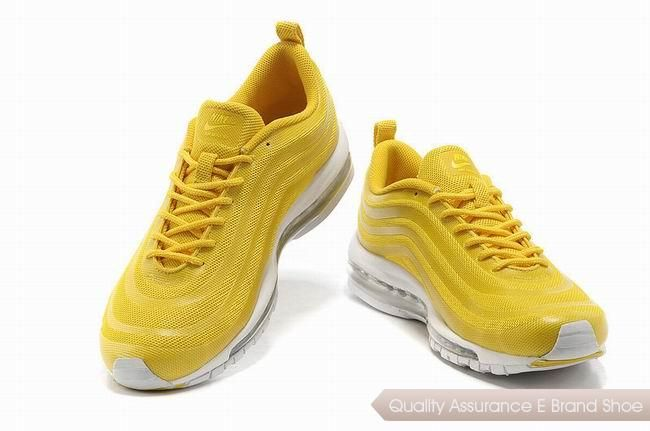 0d48d5093715 nike air max 97 cvs mens yellow white sneakers p 2196
